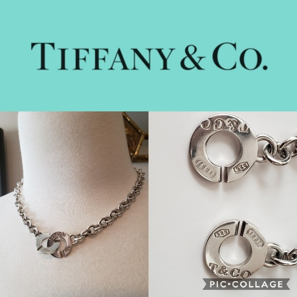fc8df6a35 Tiffany & Co. Sterling Silver 1837 Toggle Necklace.  M_5bddca923e0caa8ae9bb1c01